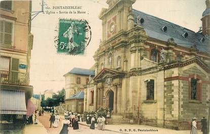 """CPA FRANCE 77 """"Fontainebleau"""""""