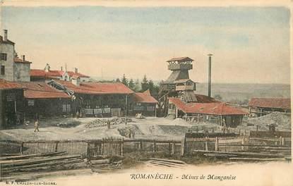 """CPA FRANCE 71 """"Romanèche, mines de manganèse"""""""