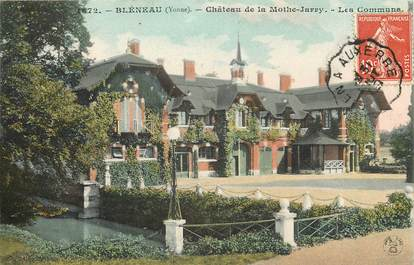 "CPA FRANCE 89 ""Bléneau, Chateau de la Mothe Jarry"""
