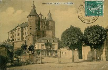 cpa france 25 montb liard le chateau voyag e 25 doubs montb liard 25 ref 5642. Black Bedroom Furniture Sets. Home Design Ideas