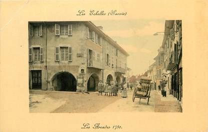 """CPA FRANCE 73 """"Les Echelles, les arcades 1730"""""""