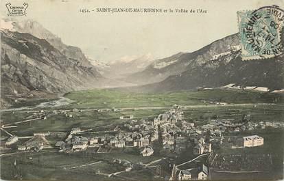 """CPA FRANCE 73 """"Saint Jean de Maurienne et la vallée de l'Arc"""""""