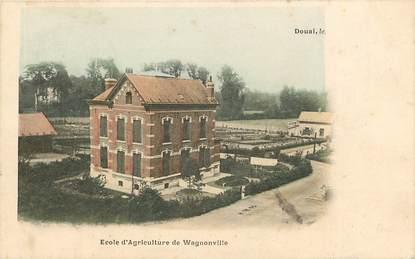 """CPA FRANCE 59 """"Douai, Ecole d'agriculture de Wagnonville"""""""