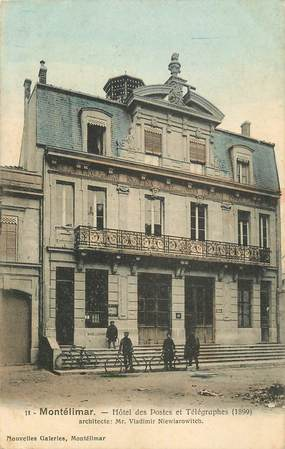 "CPA FRANCE 26 ""Montélimar, hôtel des postes"""
