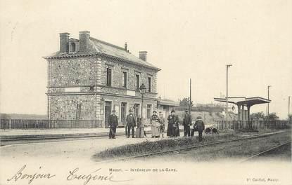 """/ CPA FRANCE 91 """"Massy, intérieur de la gare"""""""