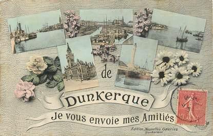"""CPA FRANCE 59 """"Dunkerque"""" / Vues de la ville"""