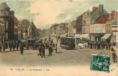 "CPA FRANCE 62 ""Calais, le boulevard, Ed. L.L."""