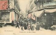 """83 Var CPA FRANCE 83 """"Toulon, la rue d'Alger"""""""