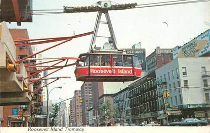 "CPSM USA ""New York, Tamway, Roosevelt Island"""