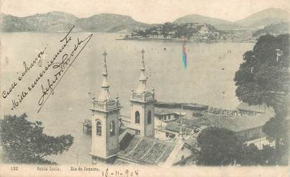 """CPA BRESIL """"Rio   de Janeiro, Santa Lucia"""""""