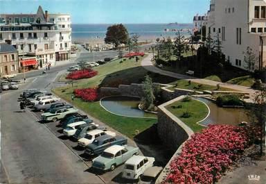"""/ CPSM FRANCE 35 """"Dinard, les jardins du parking"""""""