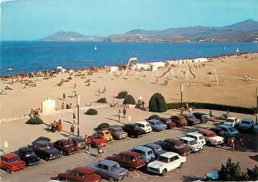 """/ CPSM FRANCE 66 """"Argelès sur Mer, la côte Vermeille"""" / AUTOMOBILE"""