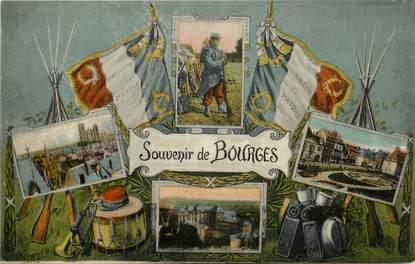 """CPA FRANCE 18 """"Souvenir de Bourges"""""""