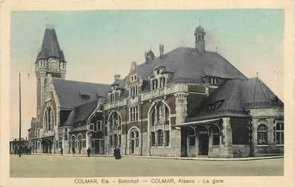"CPA FRANCE 68 ""Colmar, la gare"""