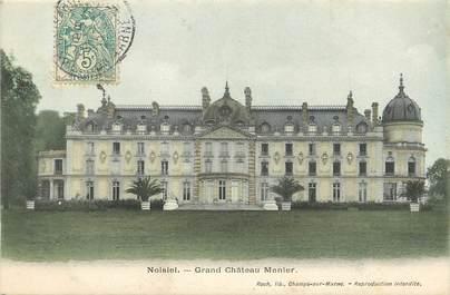 "CPA FRANCE 77 ""Noisiel, grand chateau Menier"""