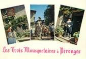 """01 Ain / CPSM FRANCE 01 """"Les Trois Mousquetaires à Pérouges"""" / CINEMA"""