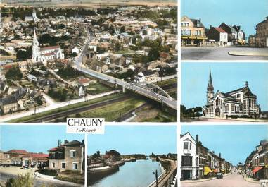 """/ CPSM FRANCE 02 """"Chauny"""""""