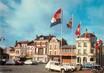 """/ CPSM FRANCE 02 """"Chauny, place de l'hôtel de ville"""" / CITROEN"""