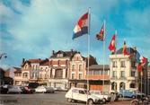 """02 Aisne / CPSM FRANCE 02 """"Chauny, place de l'hôtel de ville"""" / CITROEN"""