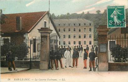 """CPA FRANCE 55 """"Bar le Duc, la caserne Exelmans"""""""