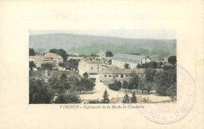 "CPA FRANCE 55 ""Verdun, Esplanade de la Roche et Citadelle"""