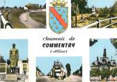 "03 Allier / CPSM FRANCE 03 ""Souvenir de Commentry"""