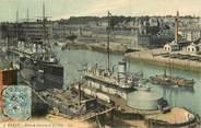 """29 Finistere CPA FRANCE 29 """"Brest, port de Guerre et la ville"""""""