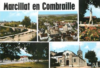 "/ CPSM FRANCE 03 "" Marcillat en Combraille """