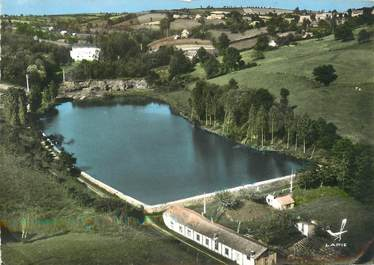 """/ CPSM FRANCE 03 """"Montcombroux Les Mines, la digue"""""""