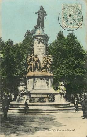 "CPA FRANCE 13 ""Marseille, monument aux morts"""
