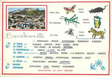 "/ CPSM FRANCE 04 ""Barcelonette """