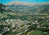 """04 Alpe De Haute Provence / CPSM FRANCE 04 """"Barcelonette, vue panoramique aérienne"""""""