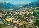 """04 Alpe De Haute Provence / CPSM FRANCE 04 """"Barcelonette, vue générale aérienne"""""""