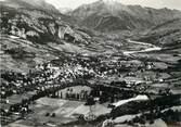 """04 Alpe De Haute Provence / CPSM FRANCE 04 """"Barcelonette, vue panoramique aérienne """""""