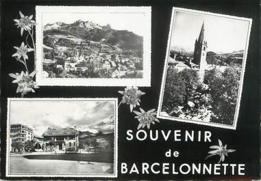 """/ CPSM FRANCE 04 """"Souvenir de Barcelonette """""""