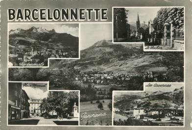 "/ CPSM FRANCE 04 ""Barcelonette, route des grandes Alpes """