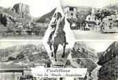 """04 Alpe De Haute Provence / CPSM FRANCE 04 """"Castellane, sur la route Napoléon"""""""