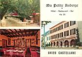 """04 Alpe De Haute Provence / CPSM FRANCE 04 """"Castellane, ma petite Auberge, hôtel restaurant"""""""