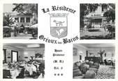 """04 Alpe De Haute Provence / CPSM FRANCE 04 """"Gréoux Les Bains, hôtel restaurant La Résidence"""""""