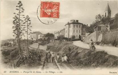 """CPA FRANCE 83 """"Hyères, presqu'île de Giens"""""""