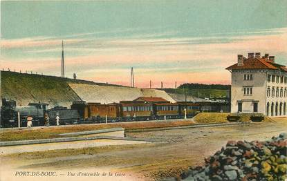 "CPA FRANCE 13 ""Port de Bouc, la gare"""