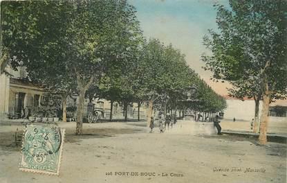 """CPA FRANCE 13 """"Port de Bouc, le cours"""""""