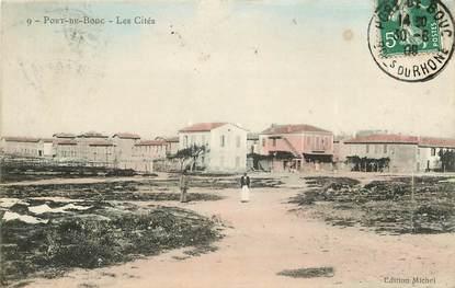 """CPA FRANCE 13 """"Port de Bouc, les cités"""""""