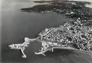 """/ CPSM FRANCE 06 """"Antibes, vue sur le port, la ville et le Cap"""""""