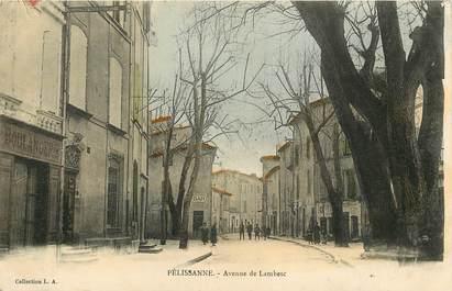 """CPA FRANCE 13 """"Pélissanne, avenue de Lambesc"""""""