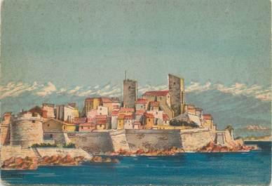 "/ CPSM FRANCE 06 ""Antibes, les remparts"" / B. DAYEZ"