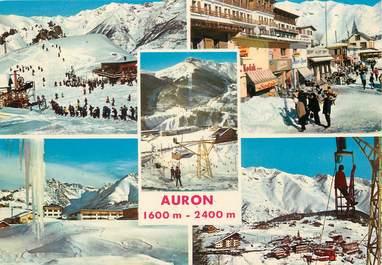 """/ CPSM FRANCE 06 """"Souvenir d'Auron"""" / SKI"""