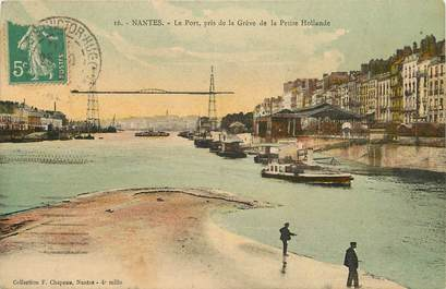"""CPA FRANCE 44 """"Nantes"""" / PONT"""
