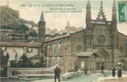 """43 Haute Loire CPA FRANCE 43 """"Le Puy en Velay, Eglise Saint Laurent"""""""
