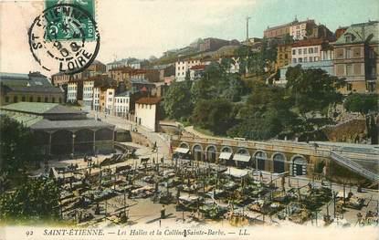 """CPA FRANCE 42 """"Saint Etienne, marché"""""""